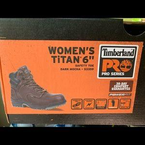 Wm 9.5 steel Toe Work boot